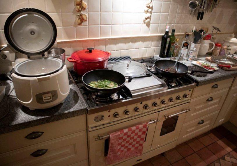 Bamisoep Koken en opnieuw beginnen
